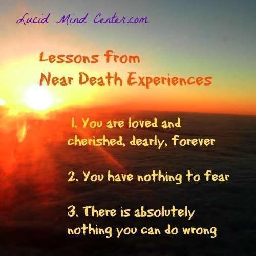 lessons nde