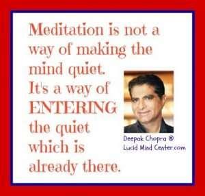 deepak chopra meditation