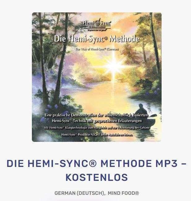 GRATIS Hemi Sync Methode