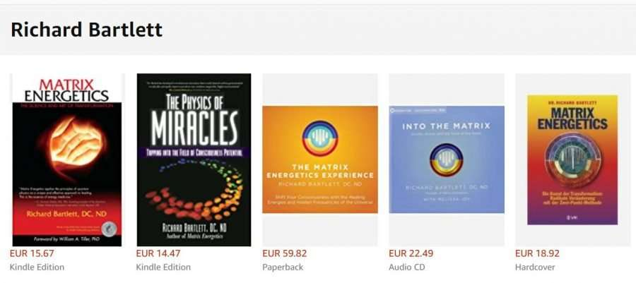 Matrix Energetics CD and BOOK