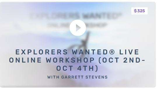 Explorers Wanted OCT 2020 LIVE