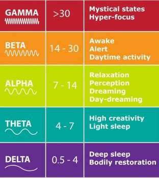 5 Brain Waves Patterns